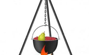 Варенье из брусники с яблоками, грушами и апельсинами